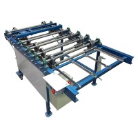 Profiling machine FM for double standing seam panels
