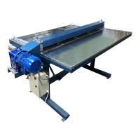 Sheet metal slitting machine (slitter machine) 4 STRIPS