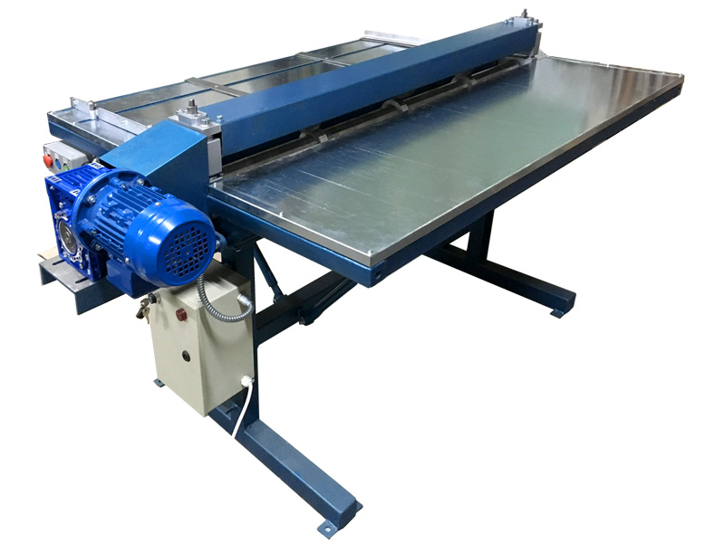 Sheet Metal Slitting Machine Slitter Machine 4 Strips